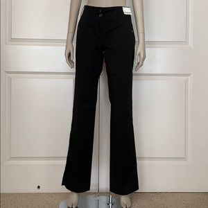 NY&Co Chino Black Straight Leg Tall Trousers